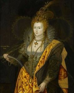 마르쿠스 제라르 2세, <엘리자베스 1세, 영국 여왕 및 아일랜드 여왕>, 1844