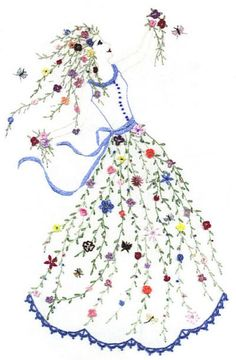 Flower Dancer Embroidery Design | Machine Embroidery Designs | Lovely Patterns You Can Do Yourself