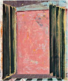 Pius Fox, Zimmer, 2010 Oil on paper, 33 × 24 cm
