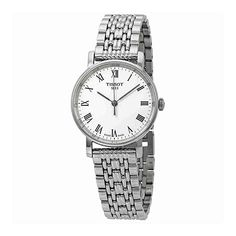 Tissot T109.210.11.033.00 Everytime Small Women's Watch Silver 30mm Stainless Steel Bracelet Watch, Quartz, Stainless Steel, Watches, Bracelets, Silver, Stuff To Buy, Accessories, Bangles