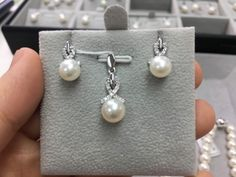 Fans, Pearl Earrings, Posts, Pearls, Jewelry, Fashion, Moda, Pearl Studs, Messages