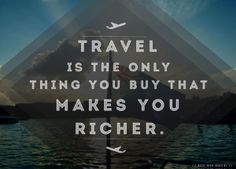 #Travel is the only thing you buy that makes you richer! #vacation #inspired #holidays #flights #flying #aviation #ocean #caribbean #island #australia #sydney #dream #dreaming