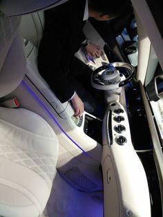 #Nowy #luksusowy #MercedesCoupe #S500 #wnętrze #otwarcie #salon #DudaCars #Poznań #PL12.06.2014 #Mercedes S500