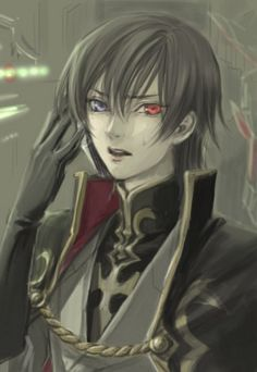 View full-size (600x869 76 kB.) _____  Gorgeous Lelouch Lamperouge fanart.