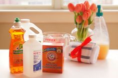 Homemade (DIY) cleaners for around the house. These work! Trust me.