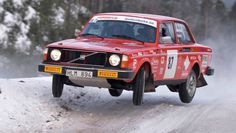Volvo 142 Historic Rally Sweden