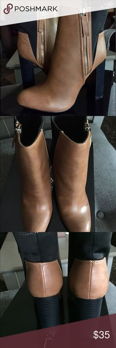 153880678563e C LABEL WOMEN BOOTIES BRAND NEW WITH BOX COLOR CAMEL TRUE TO SIZE FAUX  LEATHER ✅REASONABLE OFFERS CONSIDERED Shoes Ankle Boots   Booties