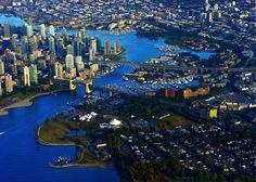 Mahmoud Heidarian's Bird Eye View of Vancouver, British Columbia