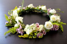 Be a flower child with DIY Floral Crown | Miss Buttercup