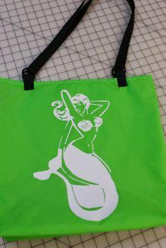 Water Resistant Mermaid Shopping bag