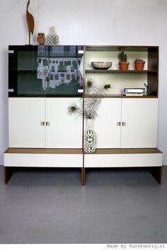Seventies Pastoe Cabinet / Dressoir www.purepoetry.nl