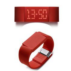 Mutewatch Watch - Poppy Red