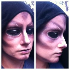 Alien Halloween Make-up Tutorial www.youtube.com/lemonrevolution Also on Instagram: Lemonrevolution