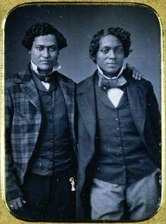 Pre-Civil War, many men were free.
