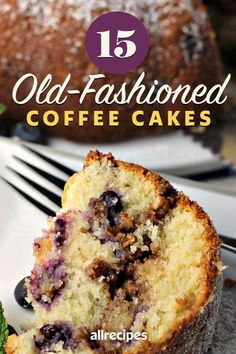 """15 Best Coffee Cakes 