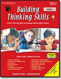 This is my favorite logic/critical thinking skills curriculum. We've used the Mathematical Reasoning book before. Building Thinking Skills® Level 1