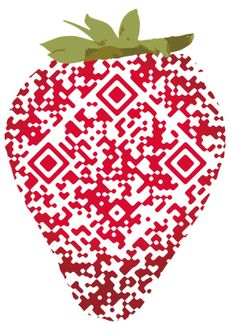 QR Code strawberry