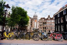 Amsterdam, the canal city