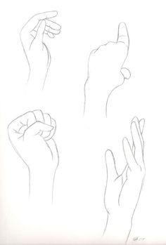 Hand reference by ~hylian-maiden on deviantART . Sketch / Drawing