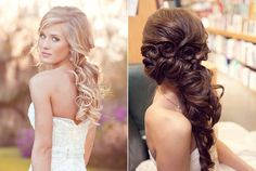 Penteado para cabelo longo! #noiva