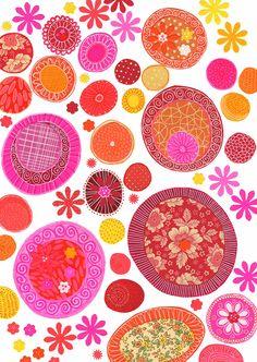susan black design Susan Black, Plant Magic, Collage, Stamp Printing, Plant Illustration, Pretty Patterns, Surface Pattern Design, Pattern Paper, Textures Patterns