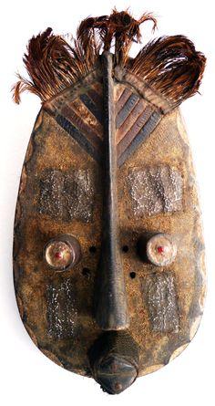 Maske der Grebo, Liberia, bei makeba.de
