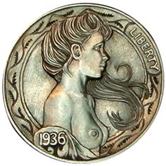 1936 Miss Liberty Nickel by Howard Thomas
