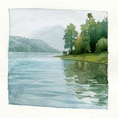 Watercolor paintings. representation