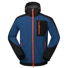 43.79$  Watch here - http://alioo7.worldwells.pw/go.php?t=32701526339 - New Man Autumn Outdoor Hiking Sports Coat Fishing Clothing Windstopper Jaqueta Masculina Camping Softshell Jacket Men Casaco 43.79$