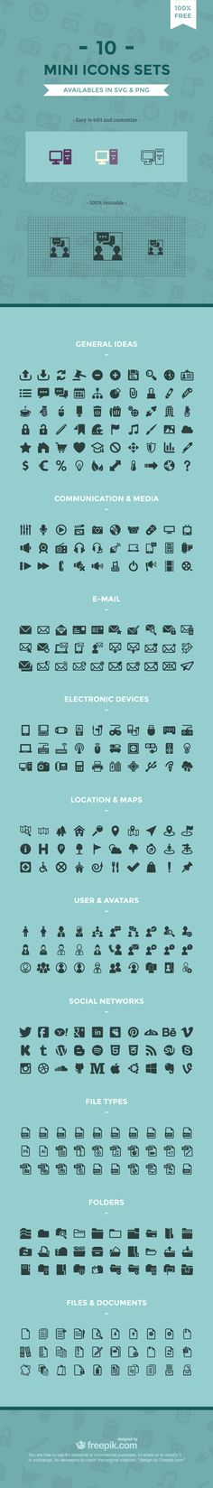 Free Minimal Icon Sets [.SVG + .PNG] http://blog.templatemonster.com/2015/06/10/free-minimal-icon-sets/?utm_source=pinterest&utm_medium=timeline&utm_campaign=icfrset