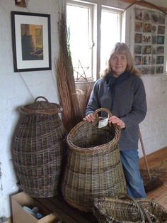 Alison Fitzgerald willow baskets http://greenwoodbaskets.co.uk