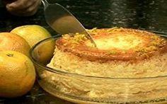 Aprenda a fazer um delicioso pudim de laranja