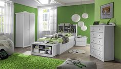 green bedroom ideas for teenage girls - Google Search