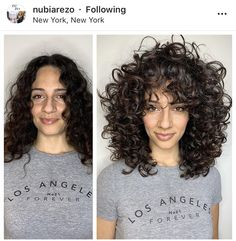 Haircuts For Curly Hair, Curly Hair Tips, Short Curly Hair, Curly Girl, Wavy Hair, Curly Hair Styles, Natural Hair Styles, Naturally Curly Haircuts, Side Curly Hairstyles