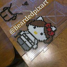 Star Wars Hello Kitty perler beads by beardedpixart