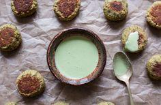 Pistachio Spinach Falafel - Gena