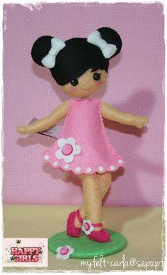FELT! Girlie in Pink