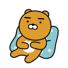 Kakao Ryan, Apeach Kakao, Phineas, Small Rabbit, Kakao Friends, Kawaii, Presents For Friends, Line Friends, Line Sticker