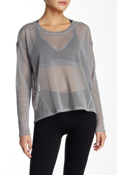 Strata Long Sleeve Tee by Alo on @nordstrom_rack