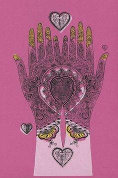 henna print