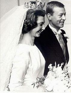 Baron Nils-August Silfverschiöld and Princess Désirée, Baroness Silfverschiöld