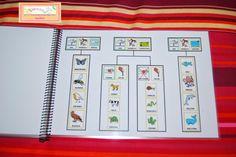 El baúl de A.L: Libro de animales