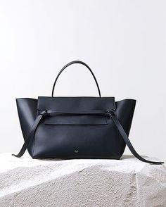 CELINE(セリーヌ) ハンドバッグ 14Fall新作♪関税込♥CELINE Belt Bag,Navy Blue - 2