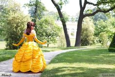 Belle in the Park. Ha