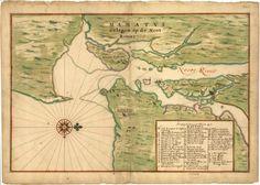 Manhattan Lying on the North River (1639)