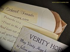 proverb VERITY HOPE