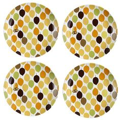 I pinned this Rachael Ray Little Hoot Salad Plate (Set of 4) from the A Picnic in the Park event at Joss and Main!
