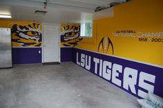 I was able to paint the walls just not with all the detail....Would love to do Big Boy's room like this (the walls)!