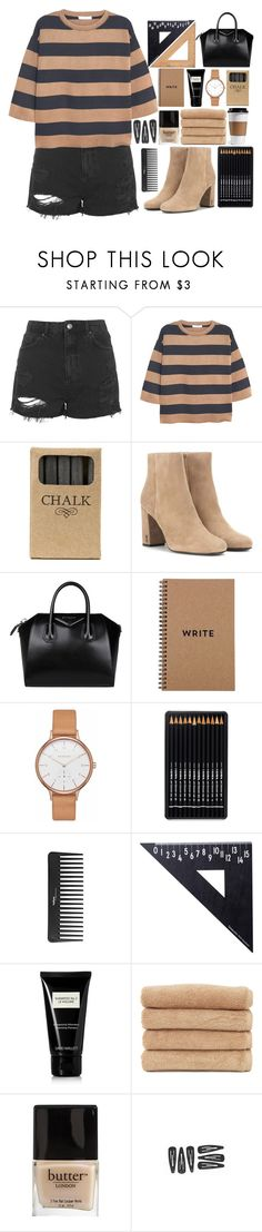 """Marta"" by vandesousa ❤ liked on Polyvore featuring Topshop, MANGO, Jayson Home, Yves Saint Laurent, Givenchy, Brika, Skagen, Sephora Collection, Design Letters and David Mallett"