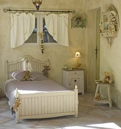 shabby chic bedroom ideas 13 Shabby Chic Bedroom Ideas--a nice nest.  Some Midnight Sleep Aid, and I would be waking up happy in here. #GotItFree